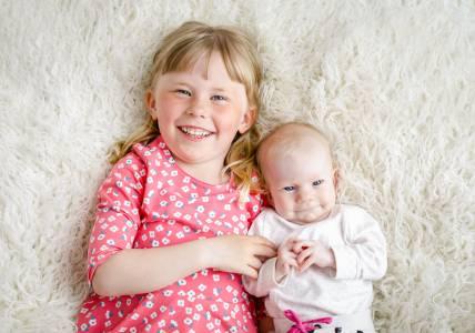 Minifotografering nyfödd