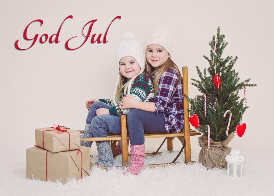 julkort julkortsfotografering jul 2016 barnfotograf fotograf sundsvall matfors lisa hulling