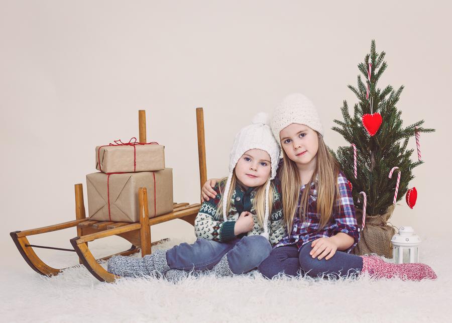 julkortsfotografering jul 2016 barnfotograf fotograf sundsvall matfors lisa hulling