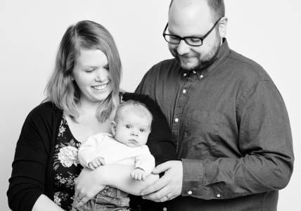 Nyfödd minifotografering