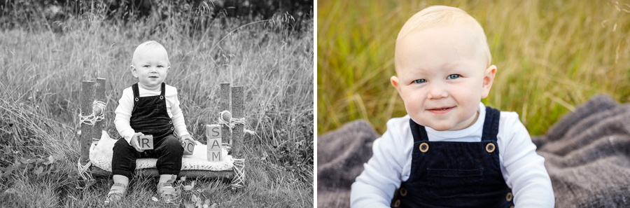 bebisfotografering barnfotografering barnfotograf fotograf lisa hulling ettårsfotografering sam matfors sundsvall